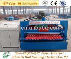 Zinc roofing sheet forming machine zinc corrugated making machine
