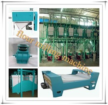 Maize milling machine 50 ton/day flour milling machine/ flour mill