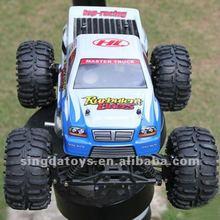 Heng long 3850-3 1 10 escala 18 controle remoto do motor de gás powered modelo de carro