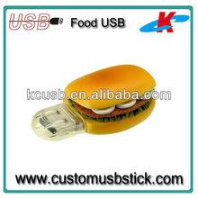 new design novelty food usb gift usb flash disk