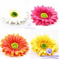 Daisy Flower Artificial Silk Flower Hair Clip Craft Wedding Party Decorative