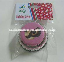 2012 new design Yummy cupcake baking cups
