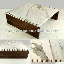 Calacatta Marble Top Coffee Table