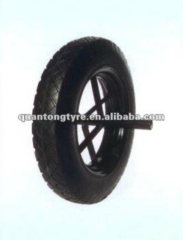 400-8 Wheelbarrow Solid Wheel, Rubber solid wheel(high quality)