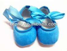 cotton cute blue shoes fashion baby girl shoes