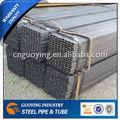 Rectangular& tubo cuadrado de acero/hueco sección galvanzied/negro recocido