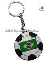 2012 Custom Fashion Promotional Large Key ring football BJO-KP010
