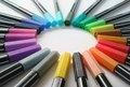 liner multa penne colori assortiti disegnare e colorare