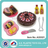 Sweet Dessert Set Children Plastic Food Toy