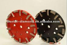 Diamond grinding heads