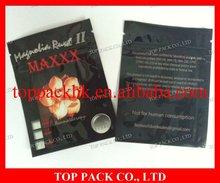 2012 newest popular laminated foil ziplock bag 3g