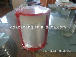 overspray taped plastic drop film