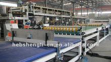 three layer cardboard production line machine