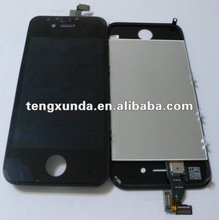 Cell phone repair parts for iphone 4S LCD screen assmebly