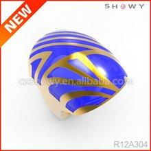 2012 fashion jewelrys enamel/resin rings design