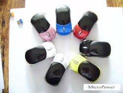USB 2.0 2.4GHZ Wireless Car Mouse For Ferrari Porsche BMW