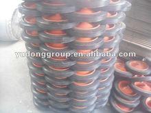 13 inch hot sell wheel barrow solid rubber wheel 13''x3''