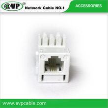 RJ11 telephone plugs for internet or phone line 6P2C