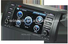"2012 Hot sale 7"" touch screen 2 din HD car dvd for BMW E53 E39 M5"
