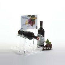 2012 antique acrylic grape wine rack