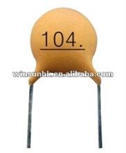 Low Voltage Ceramic Disc Capacitor