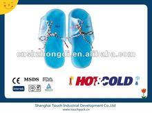 gel slipper, cold gel pack,