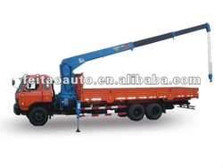 FEITAO 6 tons straight arm truck mounted crane
