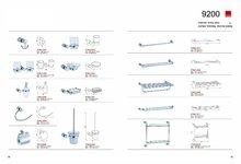 bathroom accessories brass & zinc alloybath hardware sets