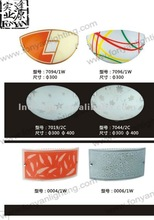Glass round ceiling lamps bathroom light covers