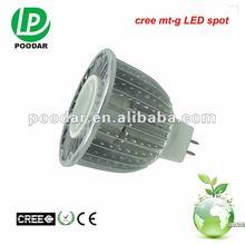 fashion aluminium 7w 520lm arm spot light,lamp mr16 led with ce
