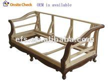 Europe style wood furniture frame (EFS-YCY-054)