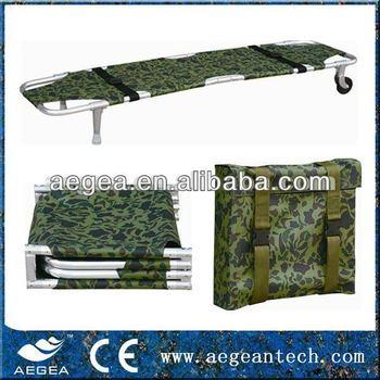 AG-2FM Al-alloy Four fold stretcher medical supplies