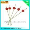 Bamboo fruit pick