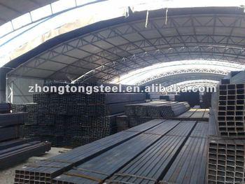 square rectangular steel pipe GB/A-500/Q195-Q345