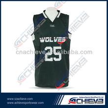 cheap plain basketball jerseys design for mens