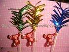 coconut monkey picks for party decorative picks