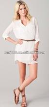2014 fashion cacual mini dress