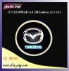 New design!! Redline Mazda laser car logo light