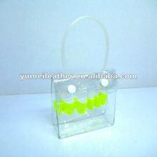 2012 hot sale designer high quality transparent pvc cosmetic bag