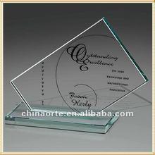 Caliente venta cristal hechos a mano recuerdos para regalos de empresa