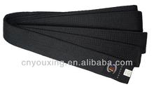 Martial arts taekwondo/karate/judo black master belt for wholesale