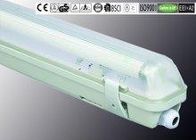 IP65 18W/36W/58W ISO9001/CE/ROHS/GS/BSCI waterproof fluorescent light fixture