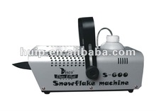 stage effect 600W snow machine/ snow making machine