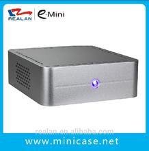 Realan aluminum computer mini itx case E-Q8 Welcome OEM , no compulsive quantity requirement .