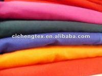 97%cotton 3%spandex/stretch poplin solid dye fabric telas poplin