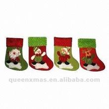 Santa Snowman Bear Reindeer Christmas Sock