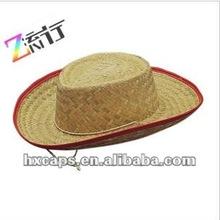 Fashion trendy Mexican sombrero straw caps