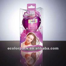 plastic box for personal care,pvc box,plastic floding box