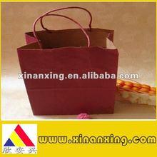 200gsm brown paper bag printing