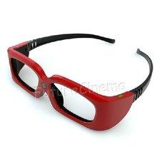 Best selling active shutter 3d glasses for tv with elegance appearance design